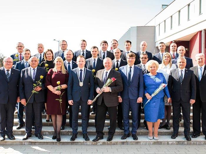 Įvyko pirmasis 9-ojo šaukimo Marijampolės savivaldybės tarybos posėdis