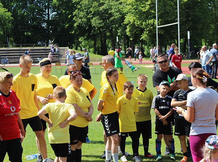 Marijampolėje – šeimų futbolo šventė