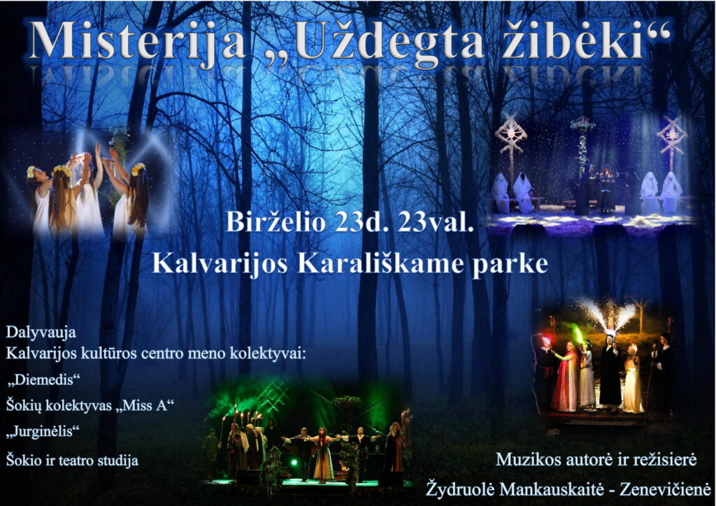 Misterija @ Kalvarijos Karališkasis parkas