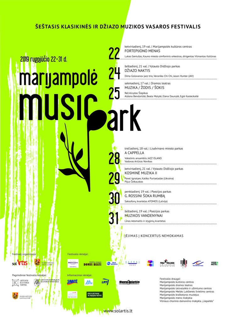 Šeštasis klasikinės ir džiazo muzikos festivalis @ Marijampolė