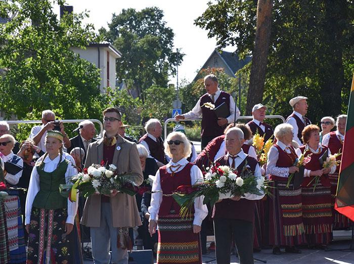 Marijampolė mini Baltijos kelio 30-metį
