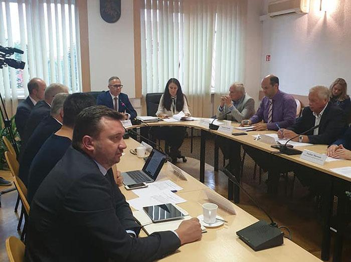 Naujuoju Marijampolės regiono plėtros tarybos pirmininku išrinktas Šakių rajono savivaldybės meras