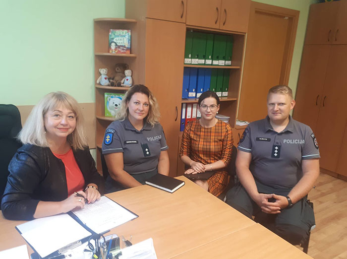 Institucijų bendradarbiavimo dėka nepilnamečių nusikalstamumas Kalvarijoje mažėja