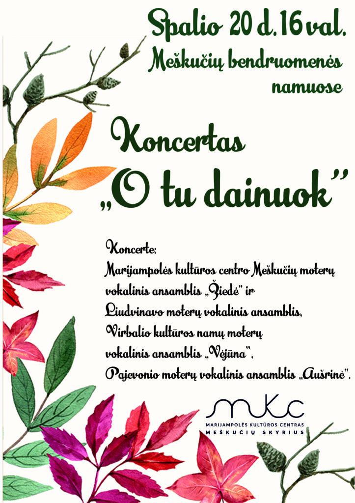 Koncertas @ Meškučiai (Marijampolės sav.)