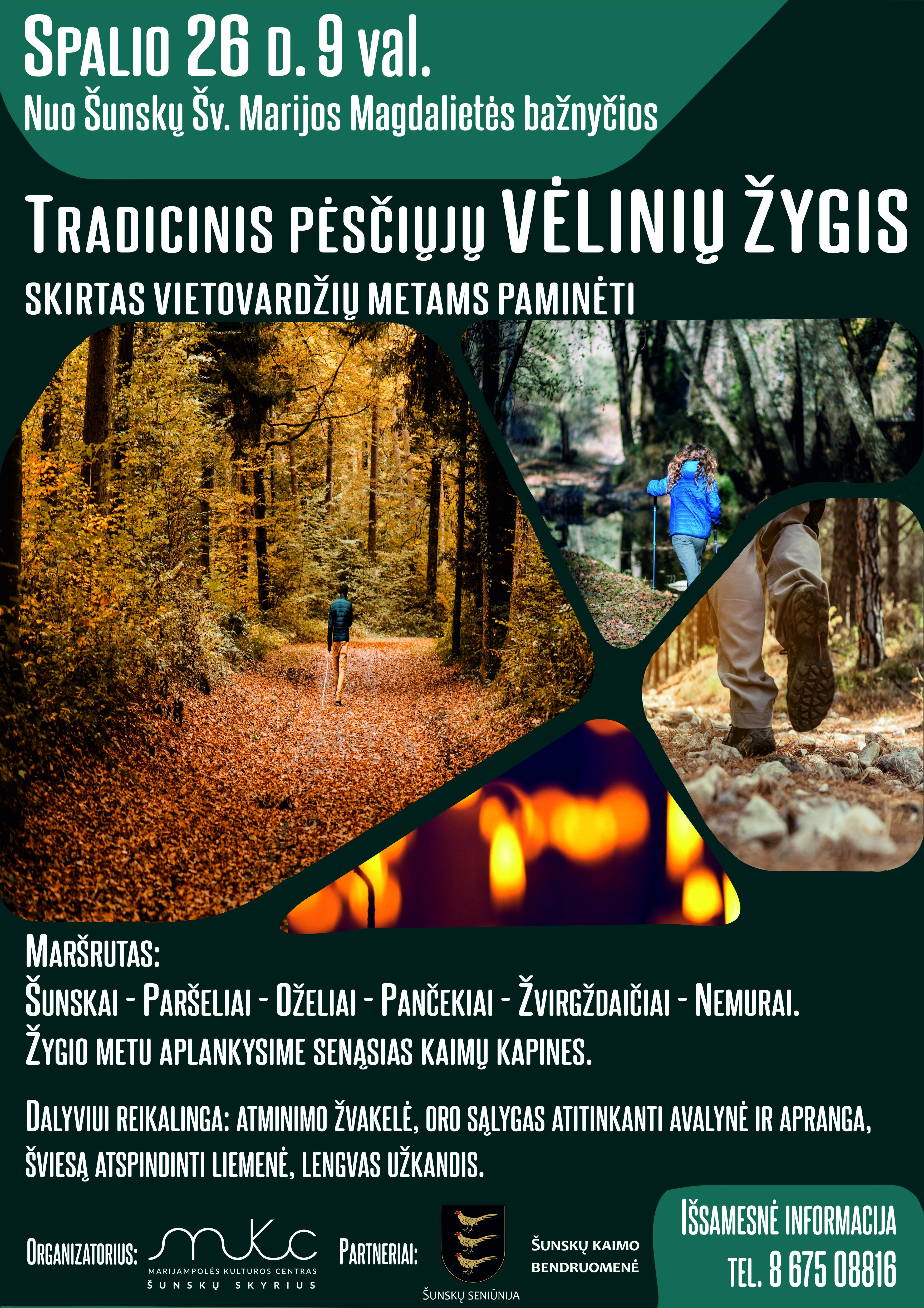 Tradicinis pėsčiųjų Vėlinių žygis