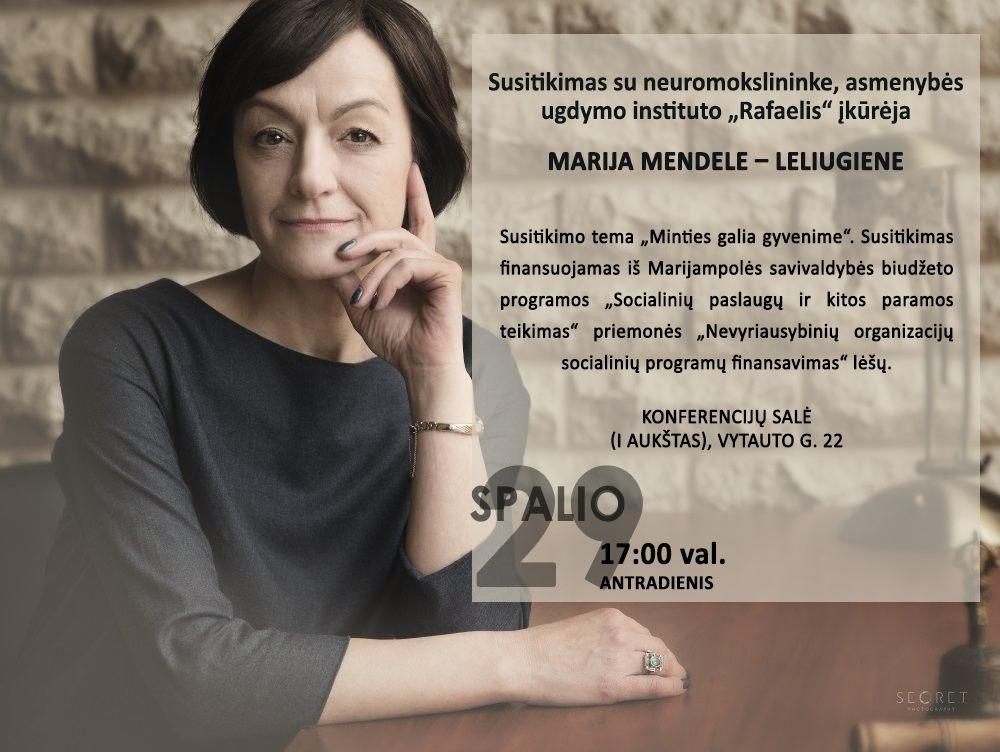 Susitikimas @ Marijampolės P. Kriaučiūno viešoji biblioteka
