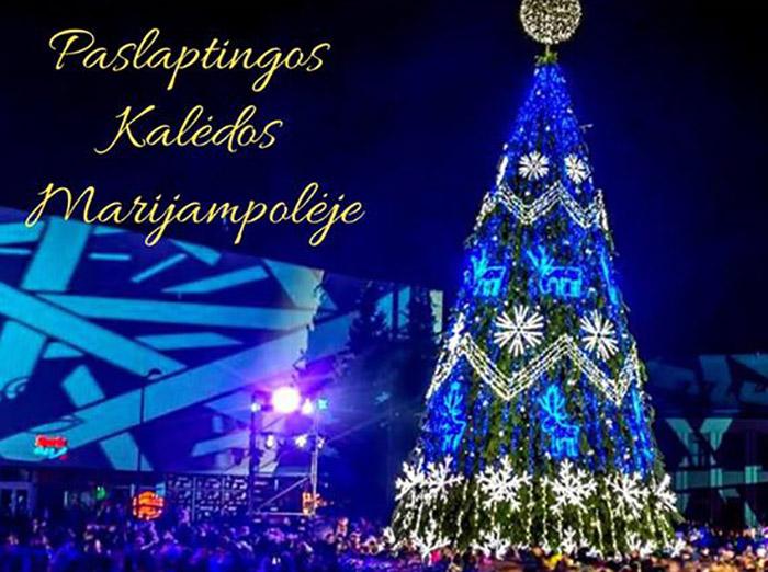 Paslaptingos Kalėdos jau keliauja į Marijampolę