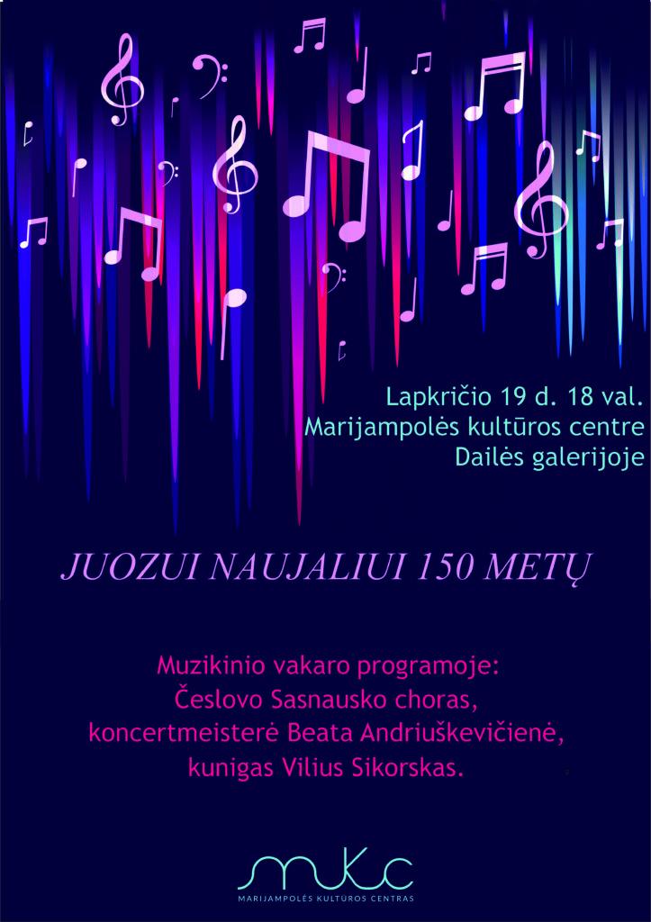 Muzikinis vakaras @ Marijampolės kultūros centras