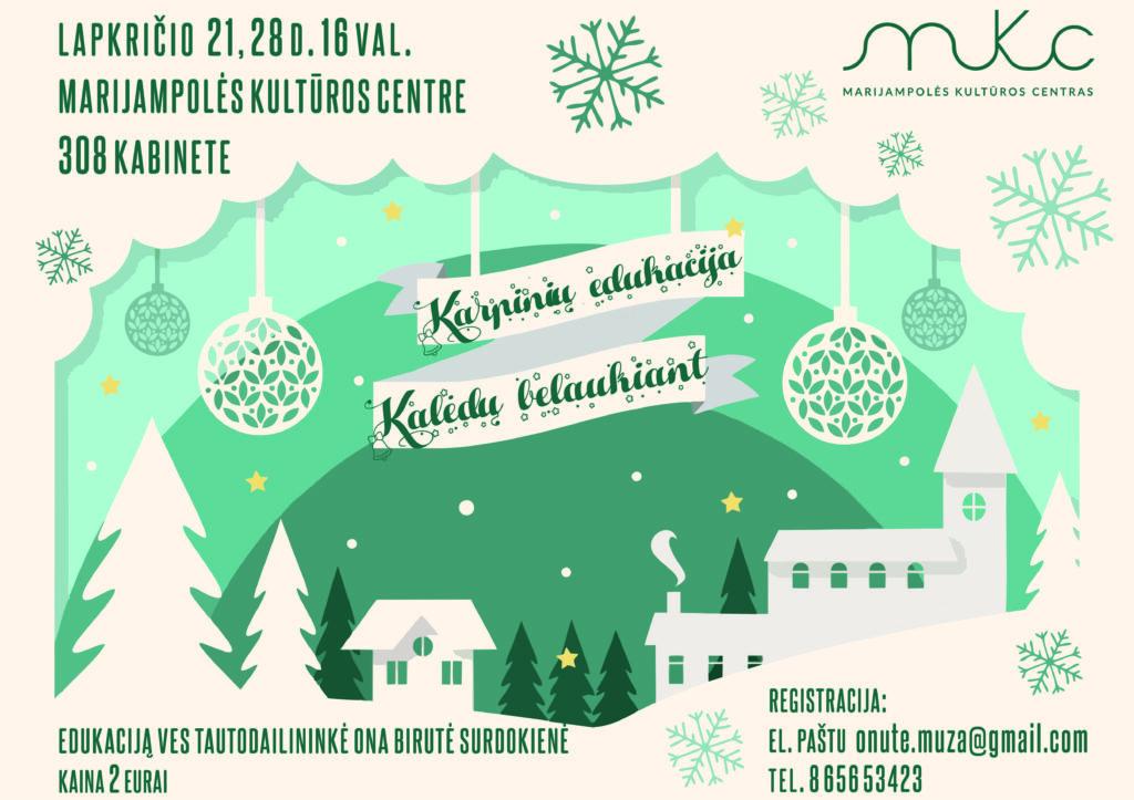 Karpinių edukacija @ Marijampolės kultūros centras