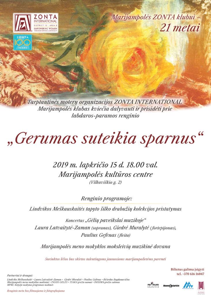 Labdaros-paramos renginys @ Marijampolės kultūros centras
