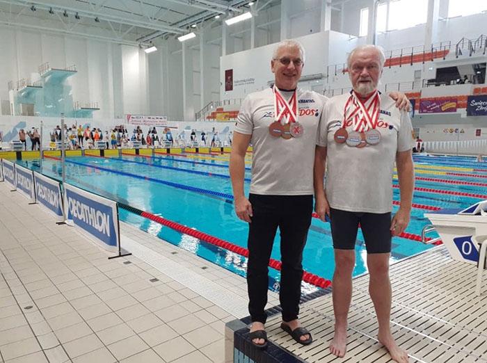 """Veteranų čempionate Lenkijoje – devyni medaliai """"Torpedoms"""""""