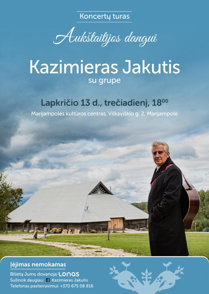 Koncertas @ Marijampolės kultūros centras