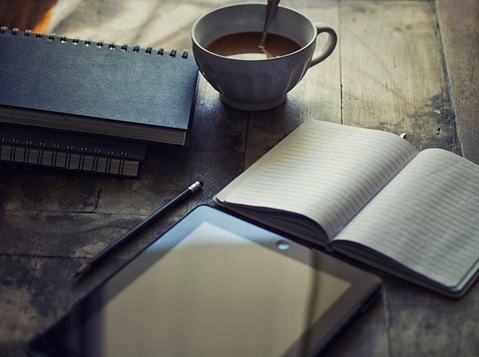 Ar planšetinis kompiuteris tinka tinklaraščio rašymui?