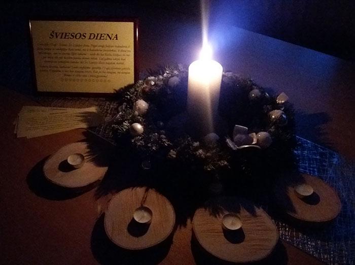 Gruodžio 13-oji – Šviesos, šv. Liucijos diena