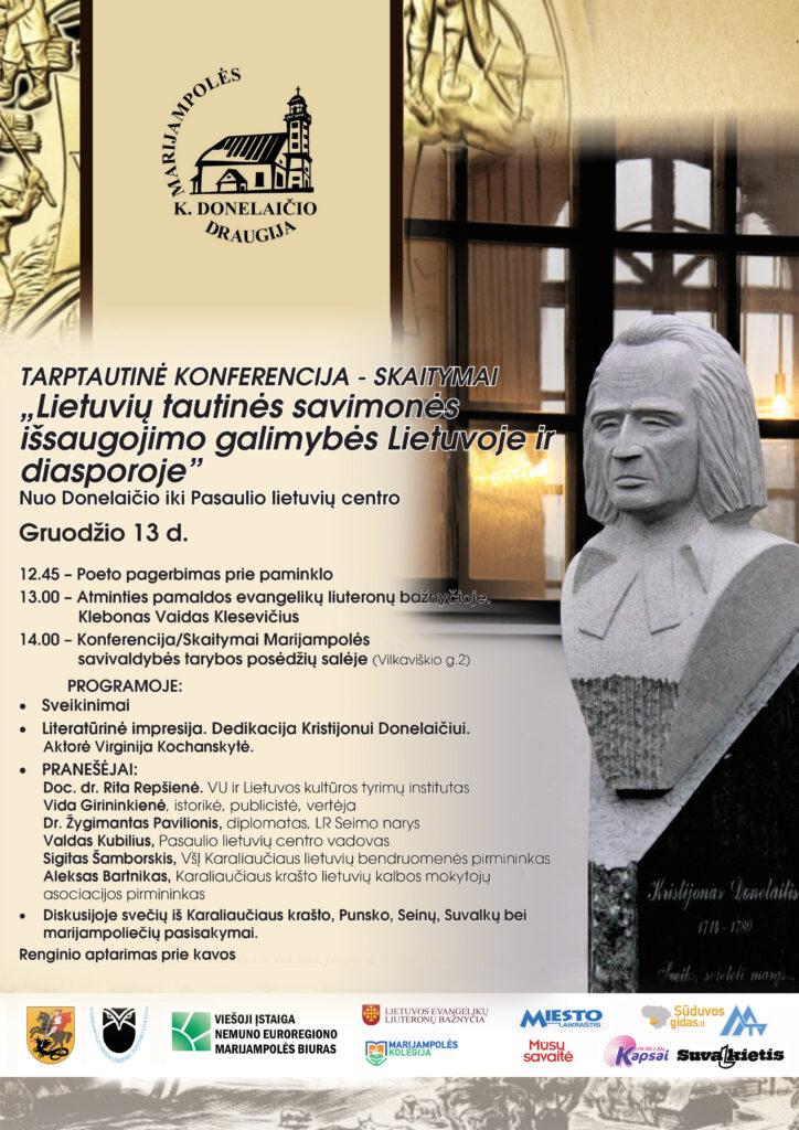 Tarptautinė konferencija @ Marijampolė