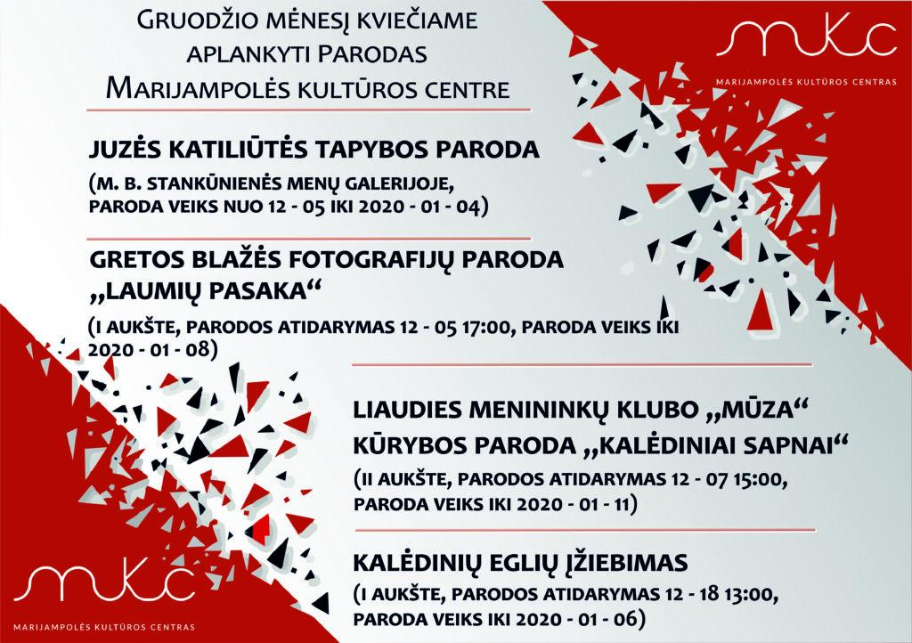 Parodos @ Marijampolės kultūros centras