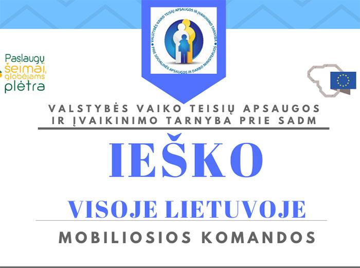 Ieško naujų profesionalių specialistų visoje Lietuvoje!