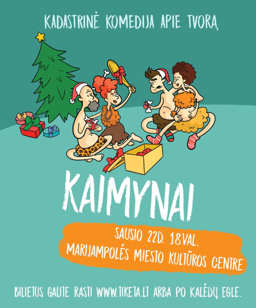 KADASTRINĖ KOMEDIJA APIE TVORĄ @ Marijampolės kultūros centras