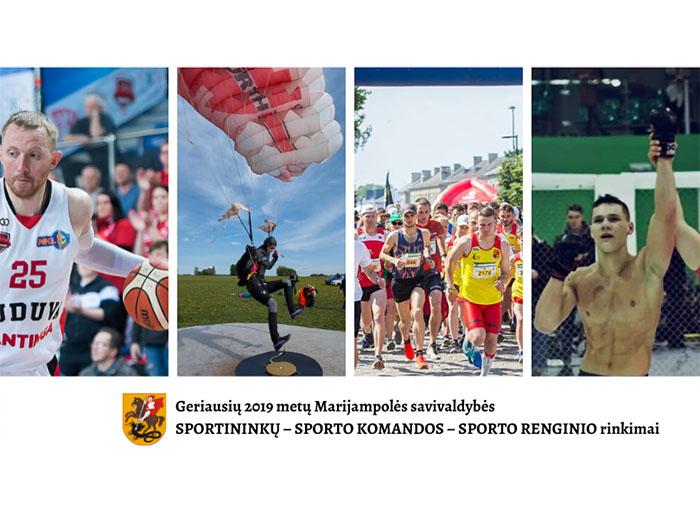 Prasideda geriausių 2019 metų Marijampolės savivaldybės sportininkų rinkimai!