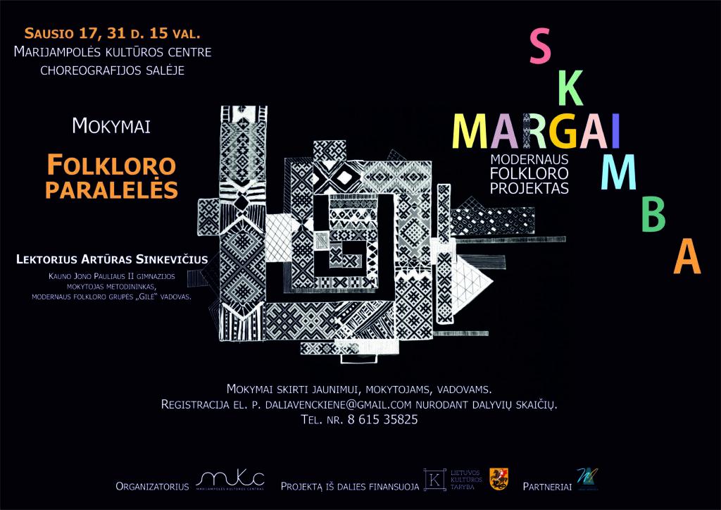 FOLKLORO PARALELĖS @ Marijampolės kultūros centras