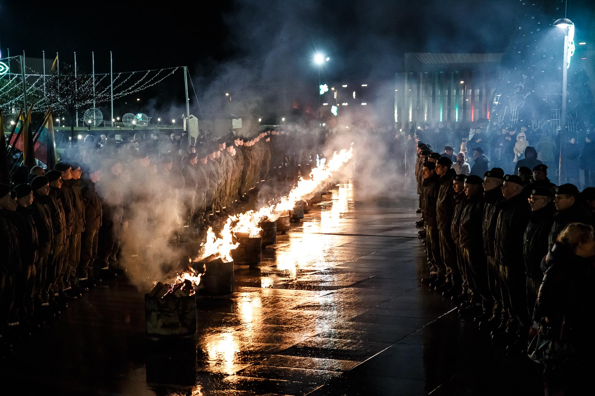 Laisvės gynėjų diena Marijampolėje