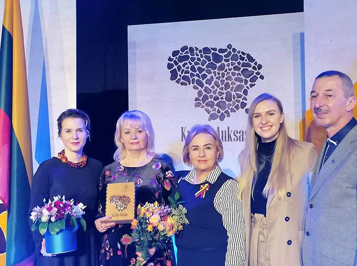 """Liudvinave Vasario 16-ąja pagerbti """"Krašto aukso"""" nominantai"""