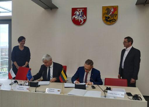 Lietuvos ir Lenkijos tarpvyriausybinės bendradarbiavimo per sieną komisijos Pasienio bendradarbiavimo darbo grupės posėdyje aptarti abiem