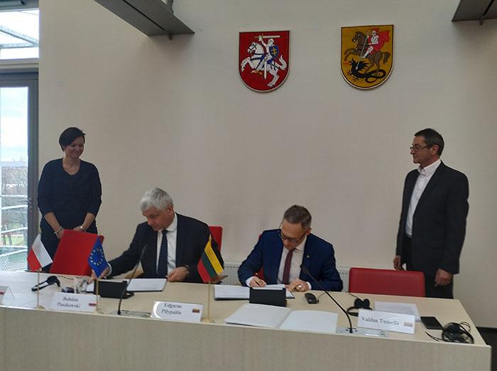 Lietuvos ir Lenkijos tarpvyriausybinės bendradarbiavimo per sieną komisijos Pasienio bendradarbiavimo darbo grupės posėdyje aptarti abiem pusėms aktualūs klausimai ir tolimesnio bendradarbiavimo galimybės