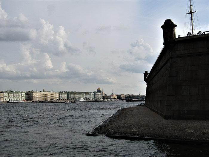 Sankt Peterburgas: Petropavlovsko tvirtovė