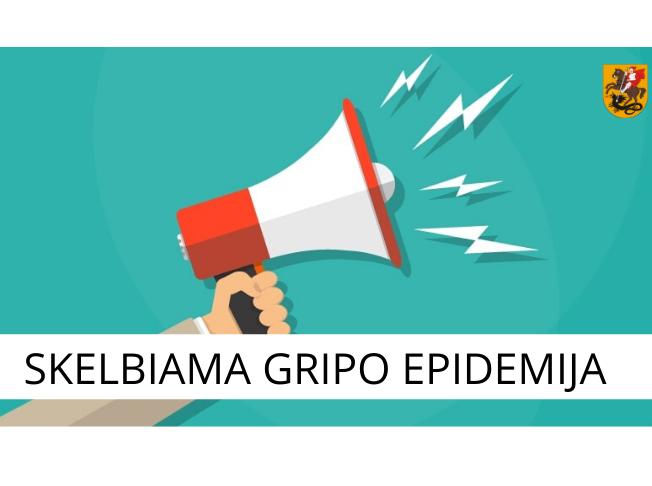 Marijampolės savivaldybėje skelbiama gripo epidemija