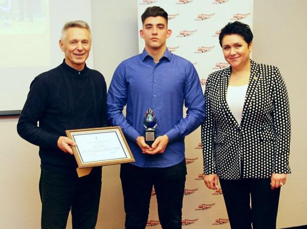Marijampolės sportininkai ir treneriai – LSSMĮVA apdovanojimų prizininkai
