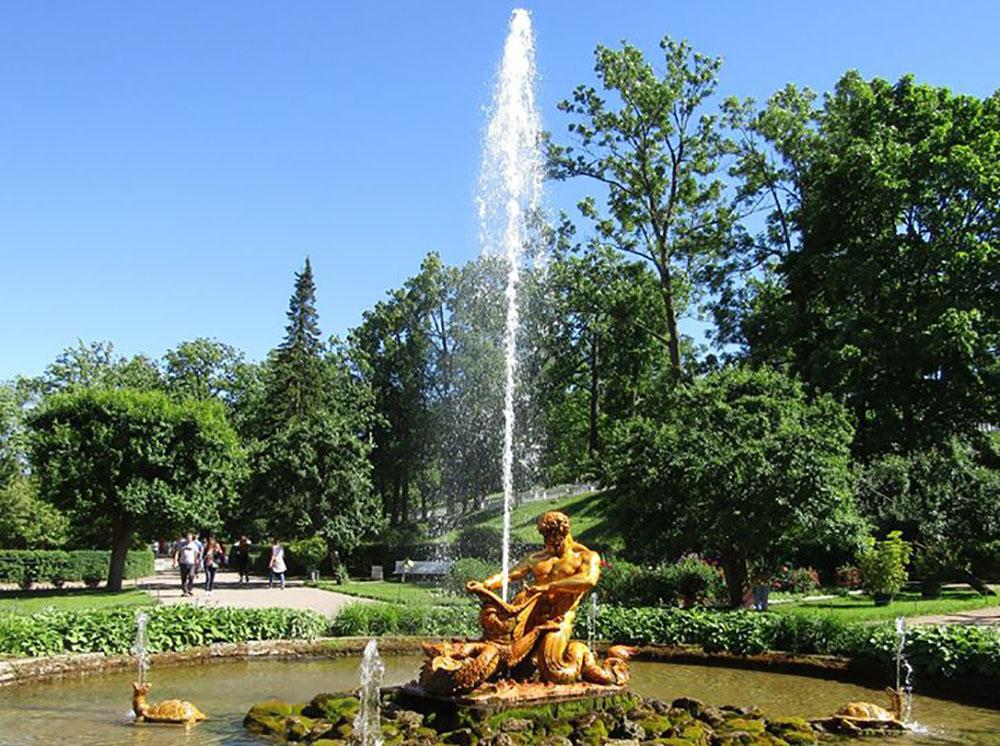 Sankt Peterburgas: Peterhofas