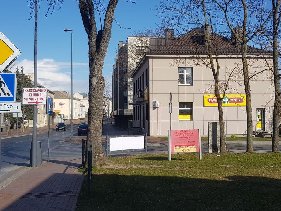 Šiandien Marijampolėje pradėjo veikti Karščiavimo klinika