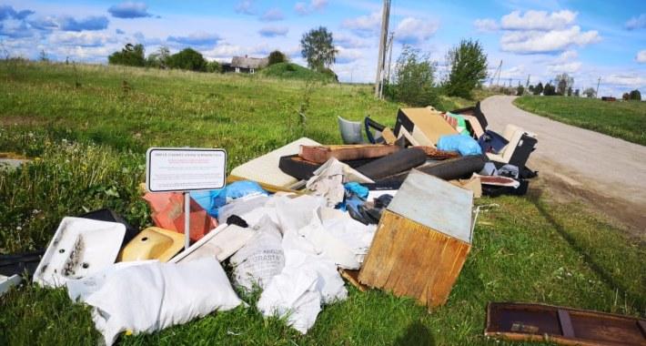 Marijampolės savivaldybės teritorijoje yra įrengtos 65 stambiagabaričių atliekų surinkimo vietos