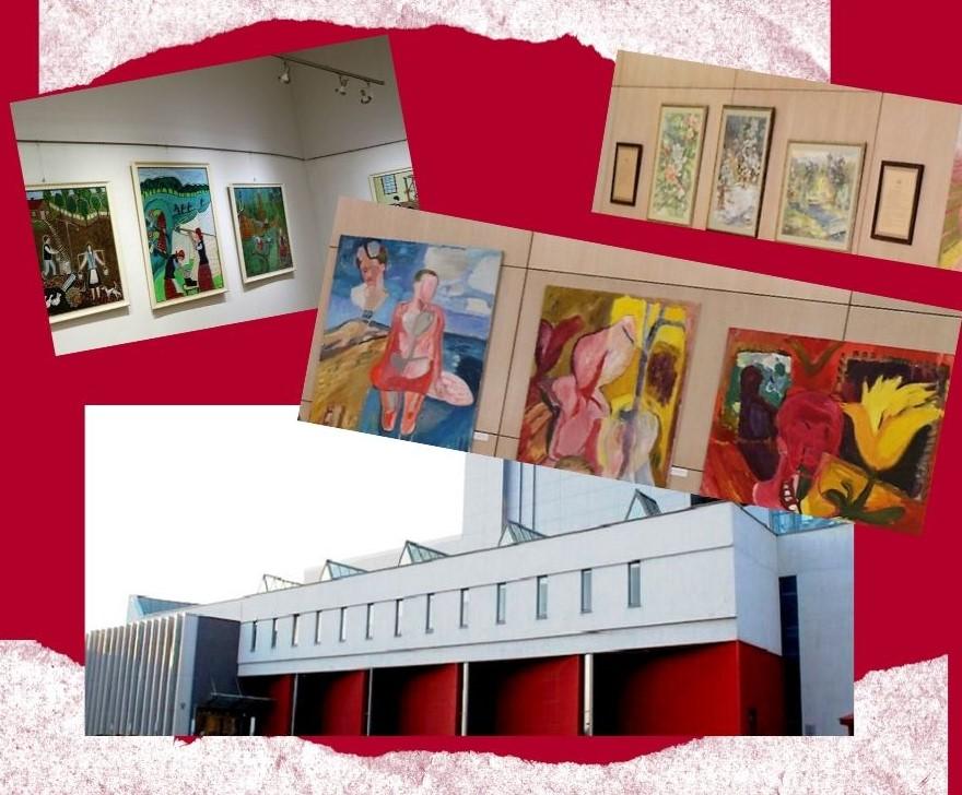Marijampolės kultūros centras vėl laukia lankytojų: kol kas galima apžiūrėti tik parodas