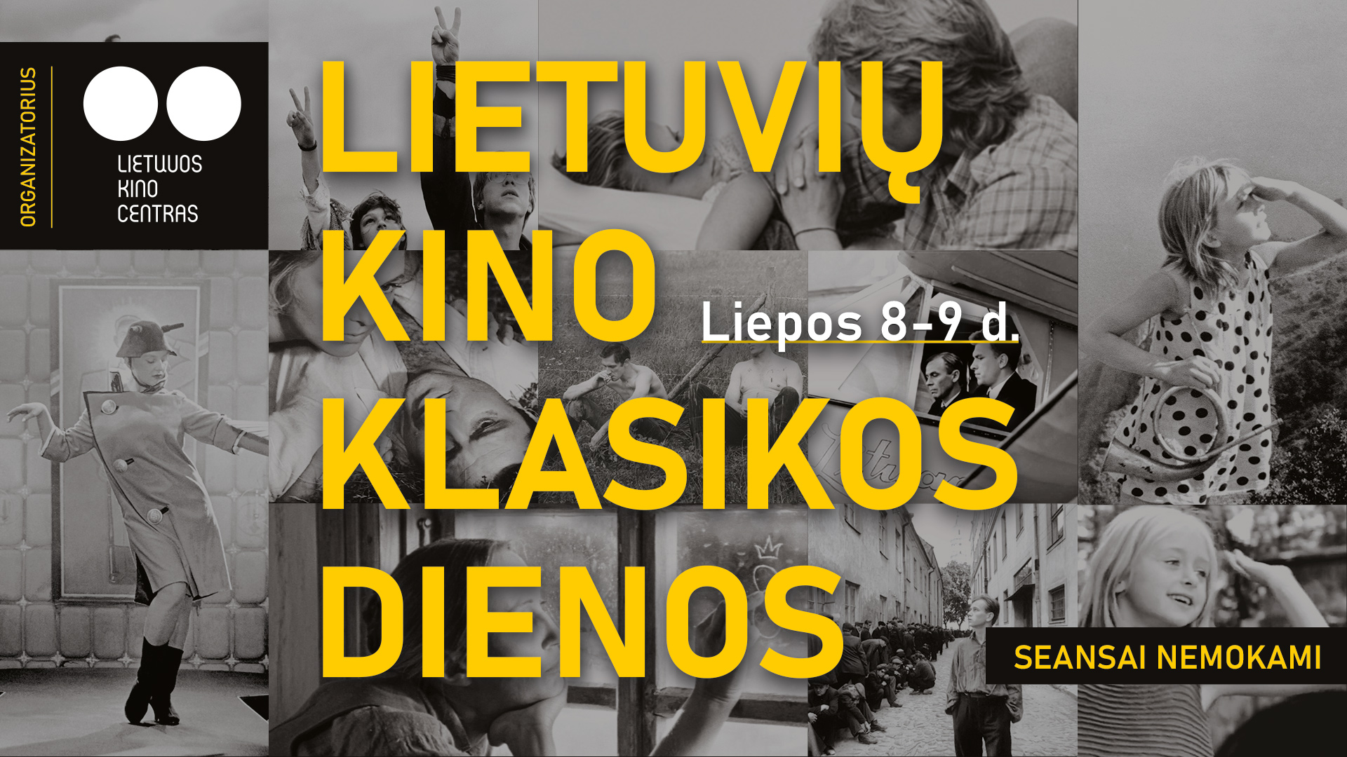 Lietuvių kino klasikos dienos sujungs keturiolika šalies kino teatrų