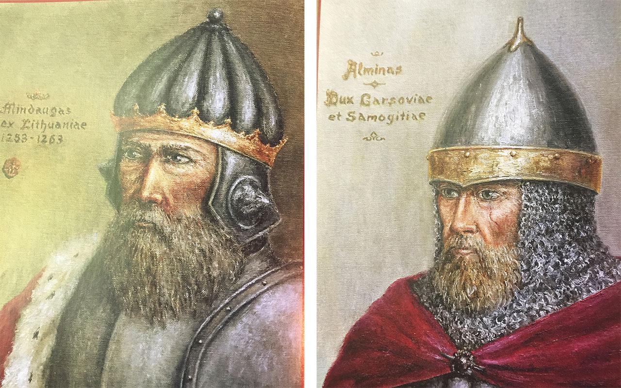 Vinco pasikalbėjimai su Jonu apie karaliaus Mindaugo laikus