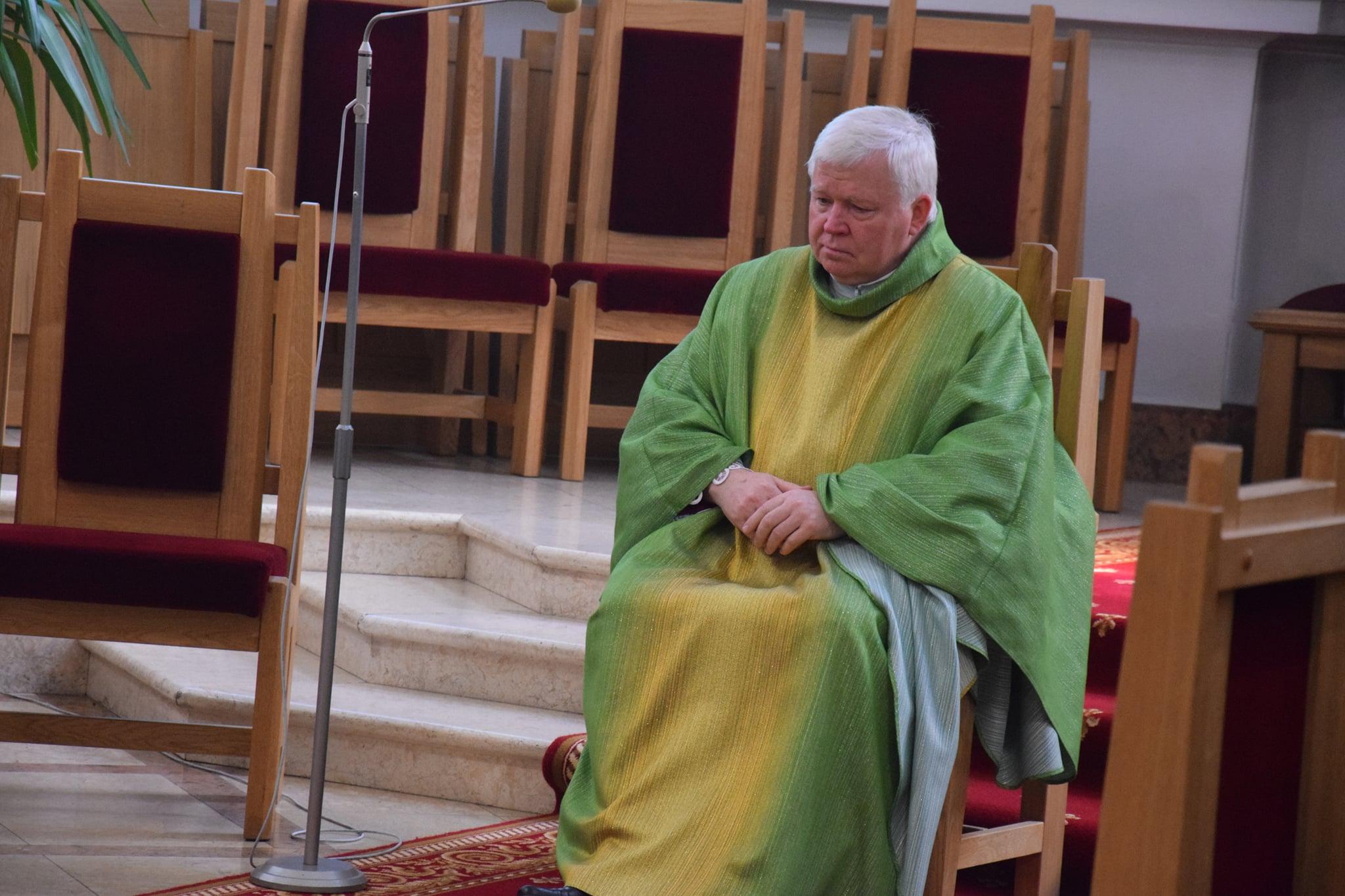 Vilkaviškio dekanas Vytautas Gustaitis paliko pareigas