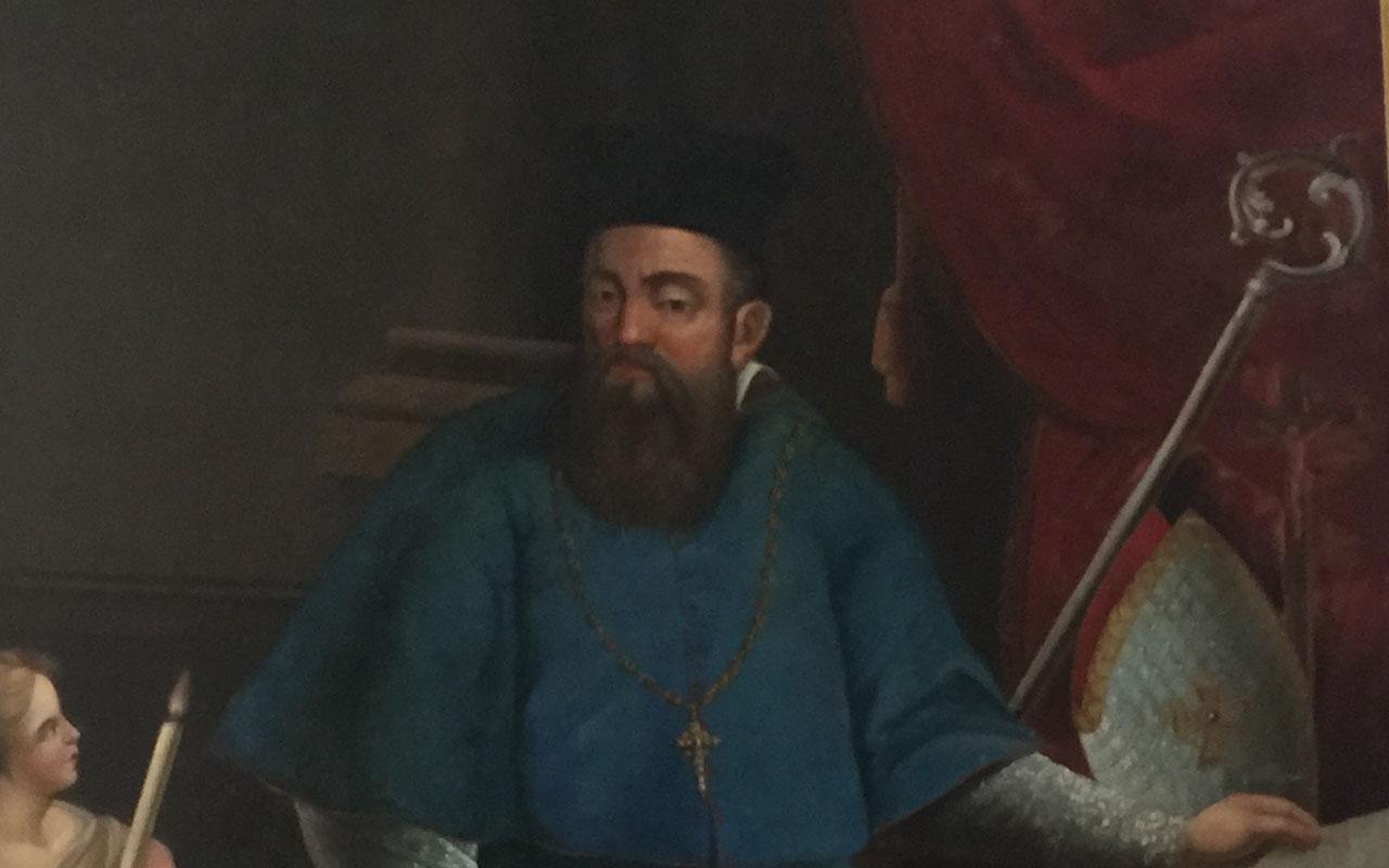 Vyskupas iš Vištyčio, Žemaičių Kalvarijose kūrėjas