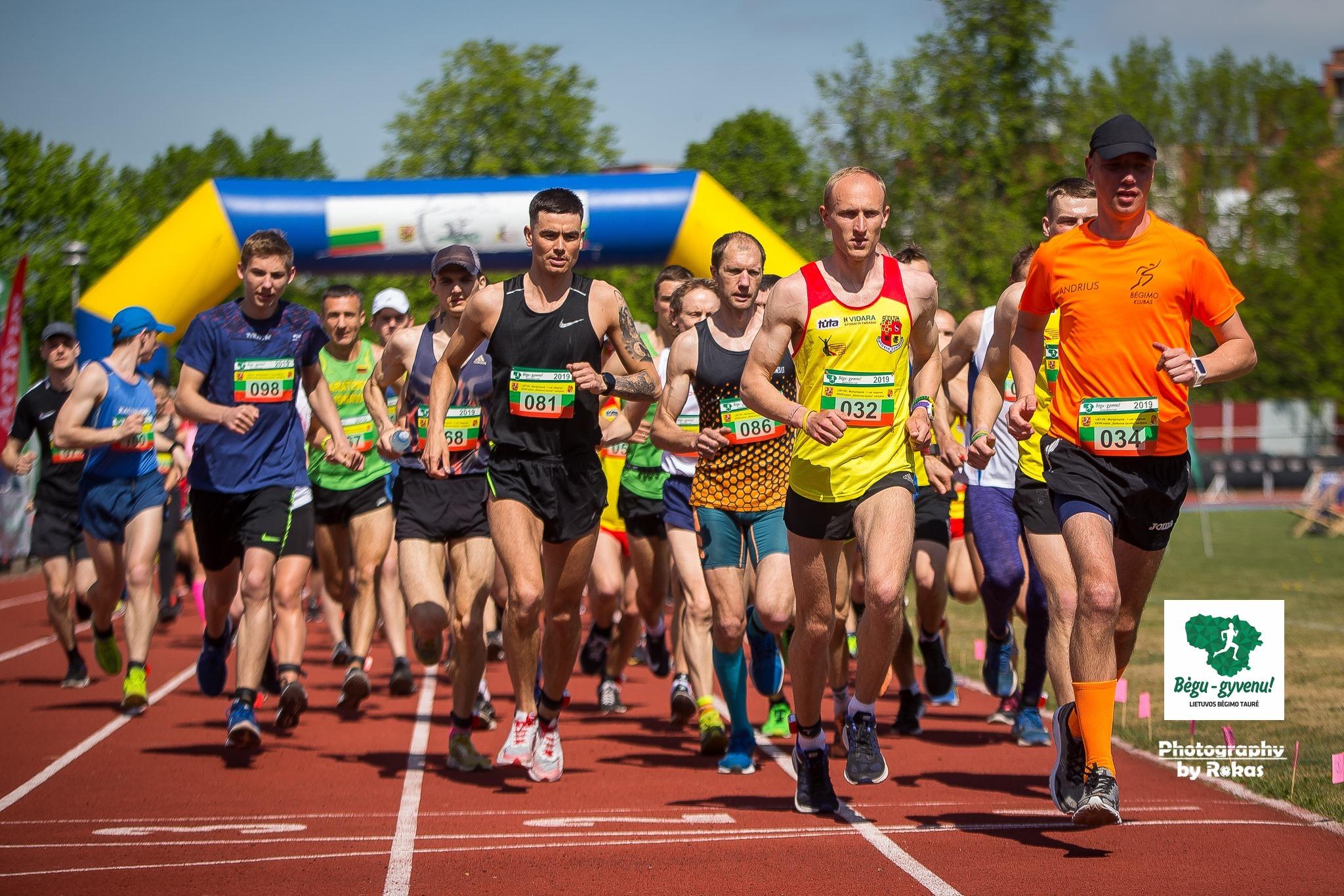 Unikaliame bėgime Marijampolėje – kova dėl LLAF taurės