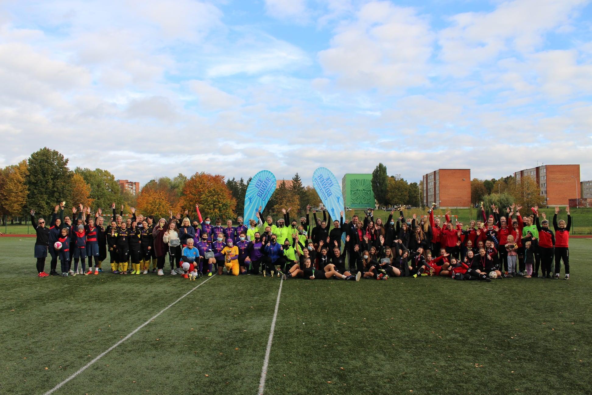 Marijampolėje – tradicinis moterų futbolo turnyras ,,Miss futbolistė 2020''