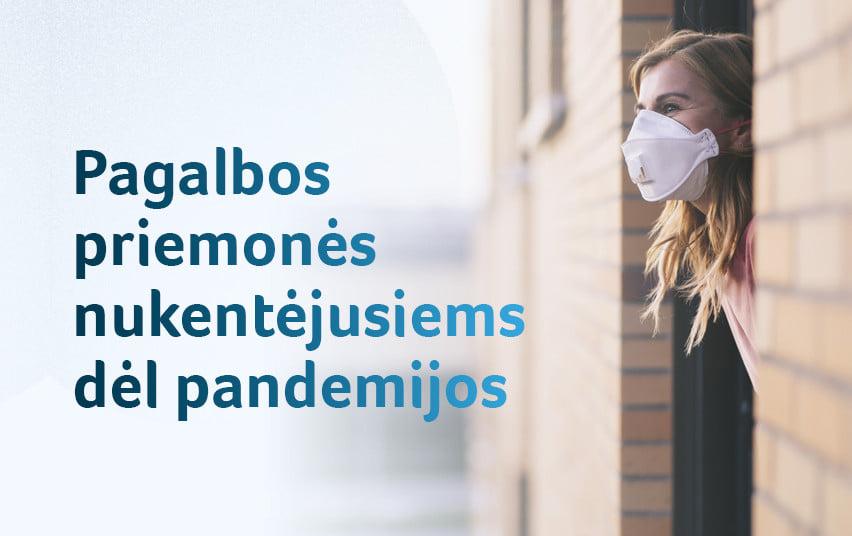 Pandemija tęsiasi: kokios galimos senos pagalbos priemonės ir kurios atnaujinamos?