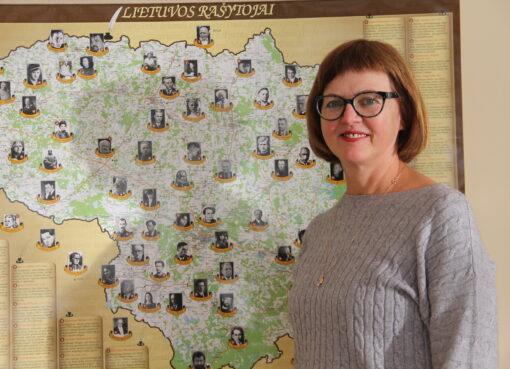 """Lietuvių kalbos mokytoja Virginija Gurevičienė: """"Kiek tu pats vertini savo darbą, tie jį vertina ir"""