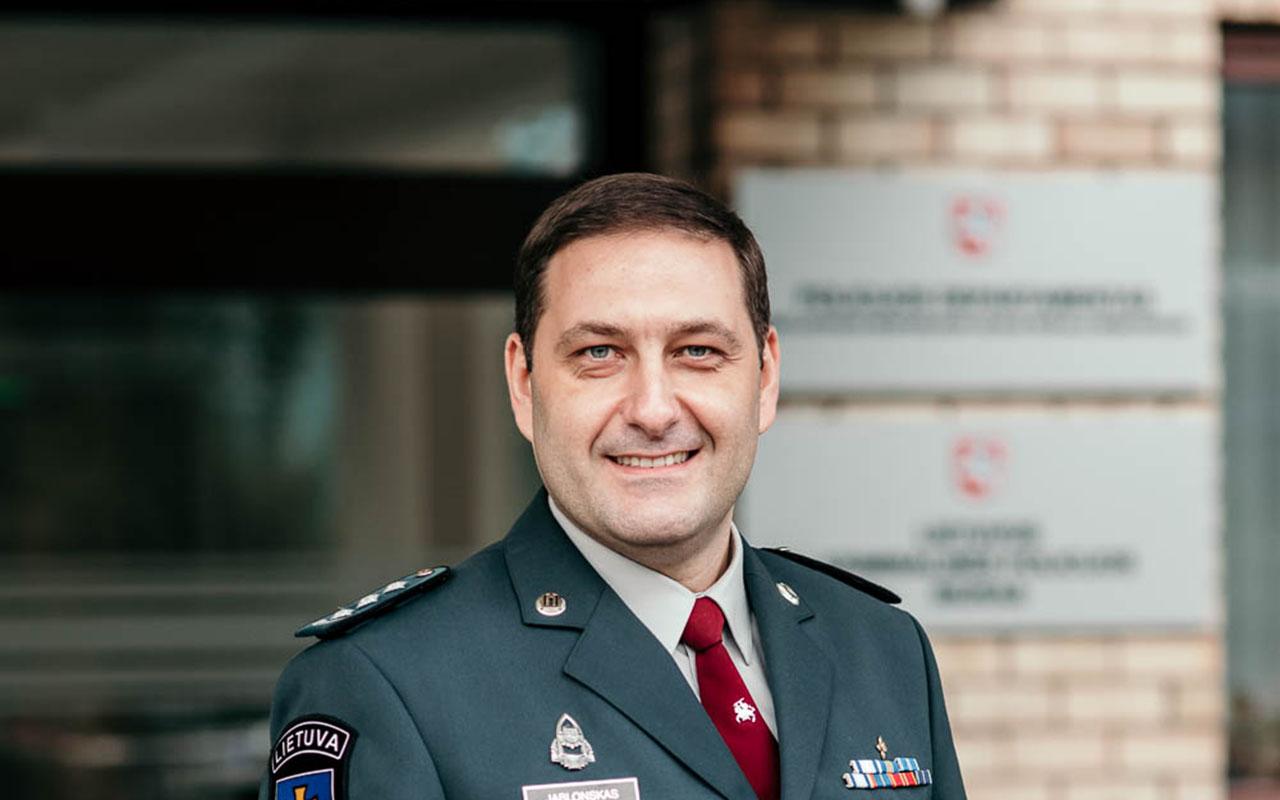 Marijampolės apskr. policijos vadovu išrinktas Elanas Jablonskas