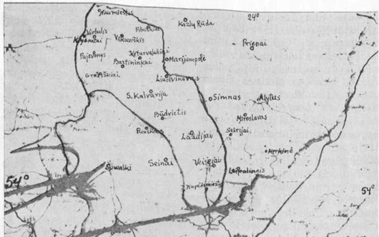 Kaip Hitleris pardavė Suvalkiją, arba kaip Vilkaviškis galėjo tapti Lietuvos sostine