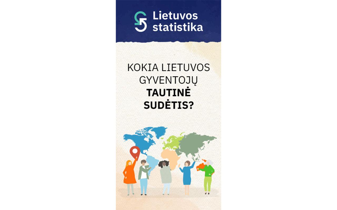Dalyvaukite gyventojų tautybės, gimtosios kalbos ir išpažįstamo tikėjimo statistiniame tyrime