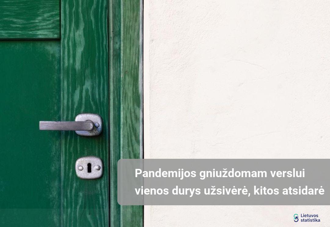 Pandemijos gniuždomam verslui vienos durys užsidarė, kitos atsidarė