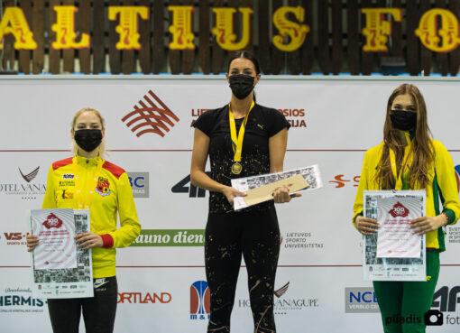 Sėkmingas Ugnės Mykolaitytės startas Lietuvos lengvosios atletikos čempionate Klaipėdoje