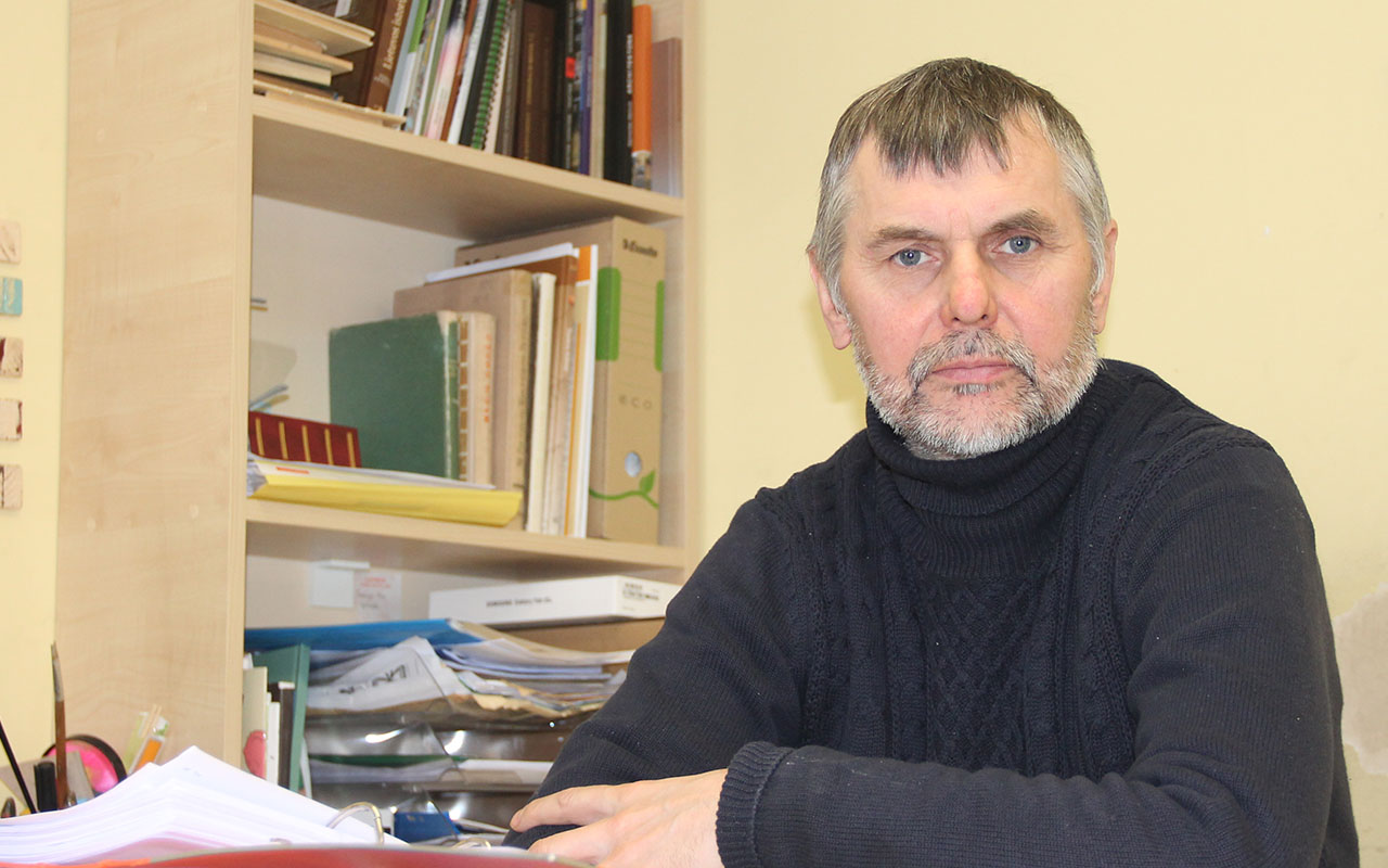 """Dailininkas Egidijus Bičkus: """"Gyvenimas neturi būti lengvas, bet jis gali būti įdomus"""""""