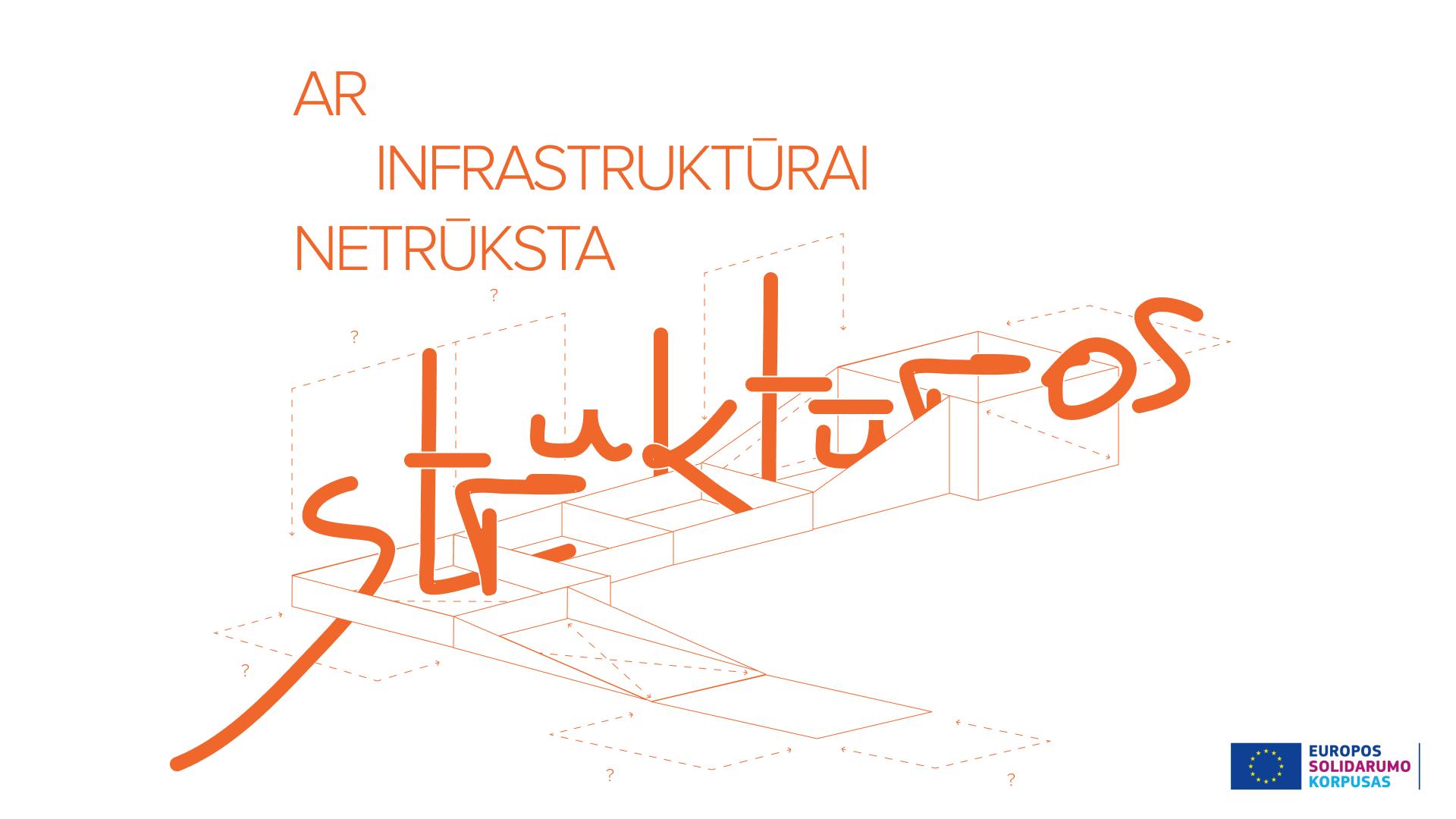 Jaunimas klausia: ar infrastruktūrai netrūksta struktūros?